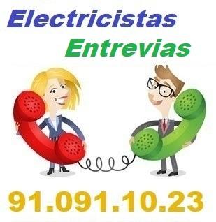 Telefono de la empresa electricistas Entrevias